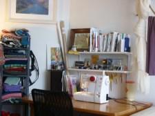 My sewing corner.