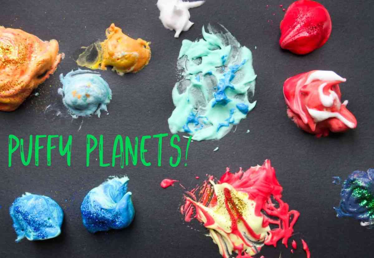 puffy planet space craft
