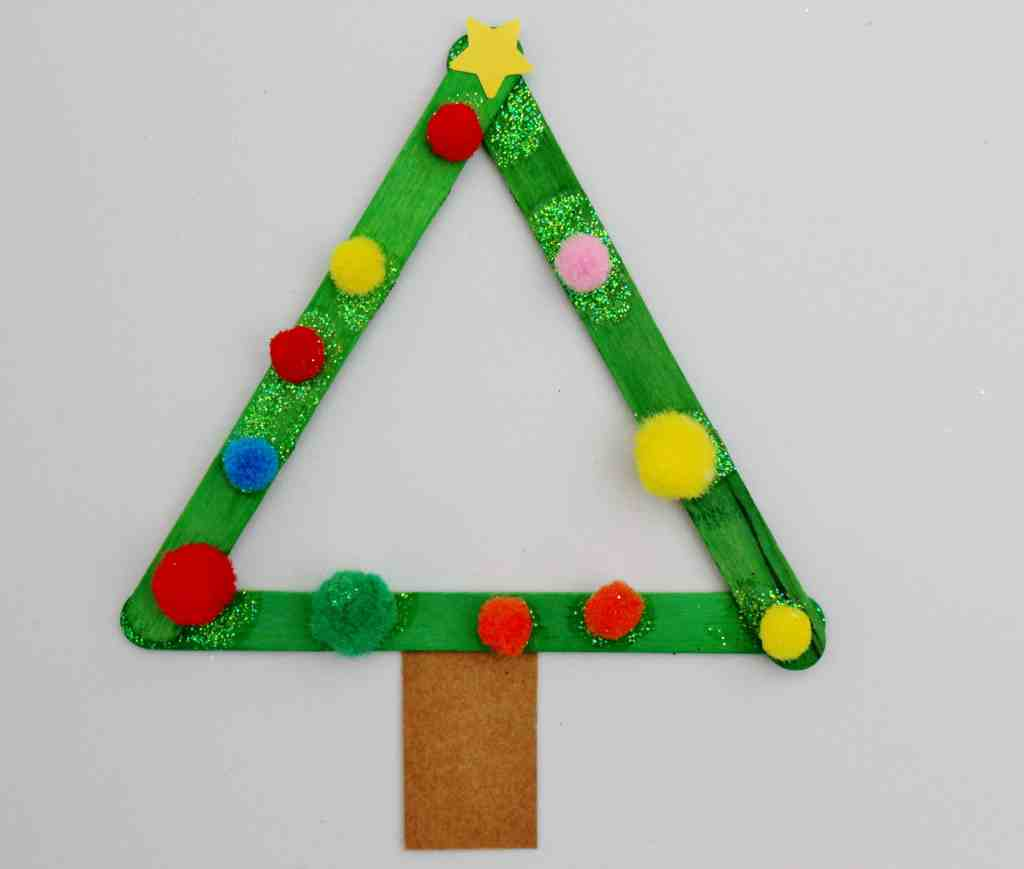 Christmas Lolly Stick Craft