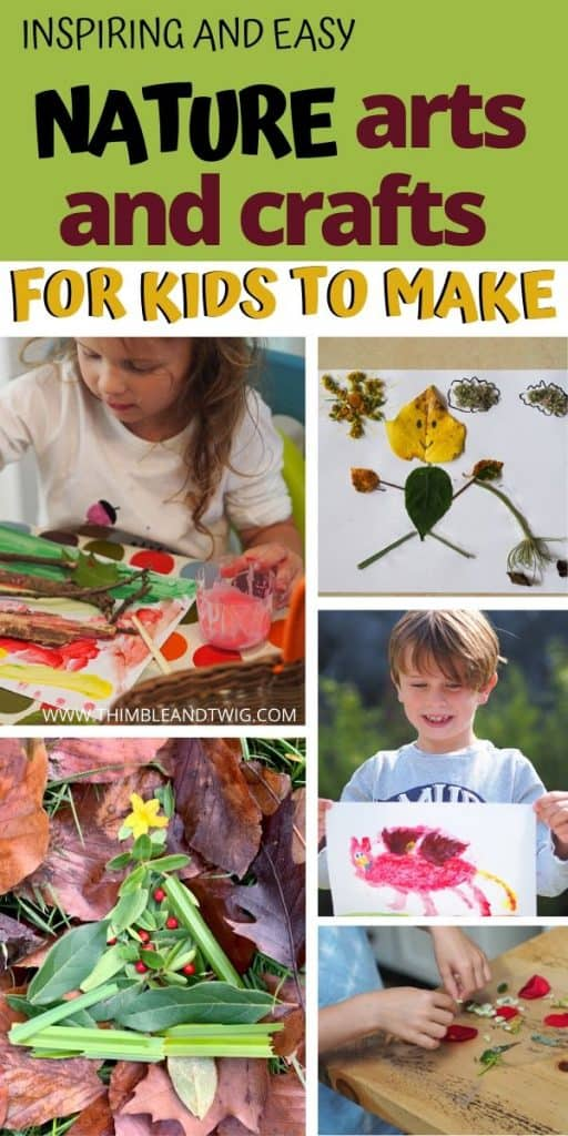 Woodland Crafts For Kids Thimble And Twig