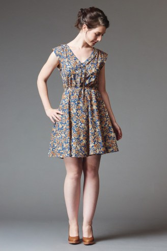 image work of doe and deer, found here https://shop.deer-and-doe.fr/en/sewing-patterns/16-reglisse-dress-pattern.html