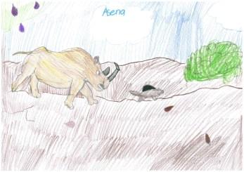 Asena, 11, Kazakhstan & US