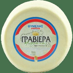 Γραβιέρα 8κιλών - Σκληρό Τυρί Λέσβου - Τυροκομικά Θυμέλης - Προϊόντα Λέσβου