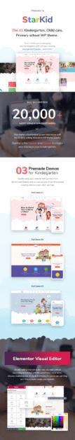 StarKid | Kindergarten WordPress Theme - 3