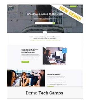 Tech Camp - Education WordPress Theme