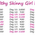 Healthy skinny girl diet thin15