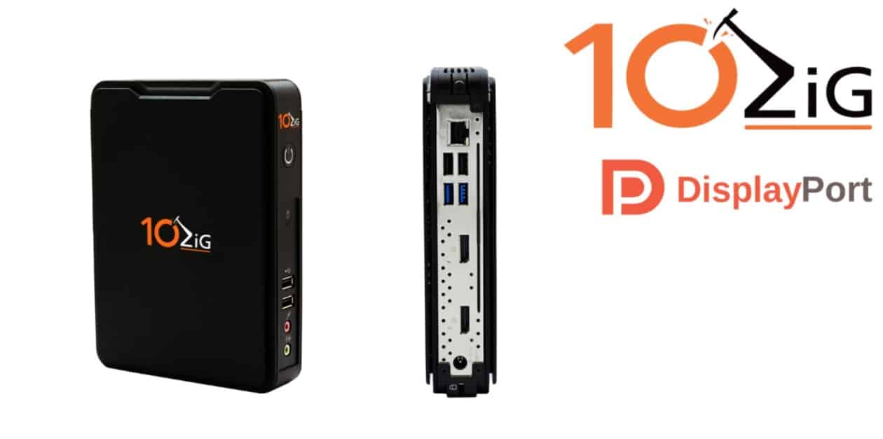 New 10Zig Dual DP Thin Client