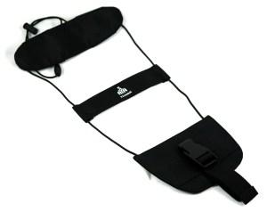 Elástica para sujetar equipaje de mano a la maleta