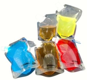 Juego de botellas plásticas reutilizables para deportes