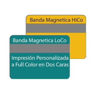 Tarjetas de PVC Magneticas Personalizadas X10
