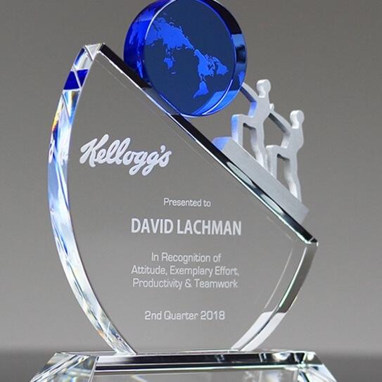 custom retirement award creative