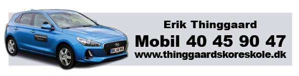 Thinggaards Køreskole Aalborg logo