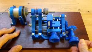 Awesome 3D printed lathe