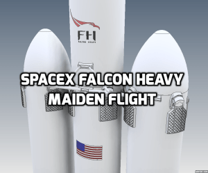 Falcon Heavy Title Featured Image.