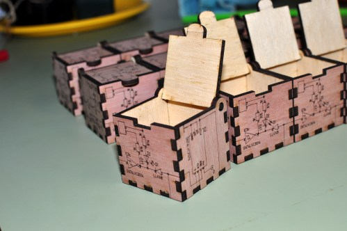 small resolution of laser cut wood box with schematic diagram design