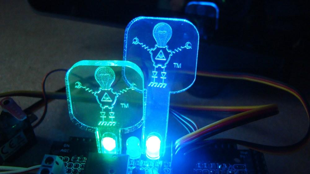 medium resolution of led light guide