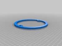 Shower Drain extension plate by mattsplat - Thingiverse