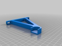 Wall Mounted Spool Holder by philmcglass - Thingiverse