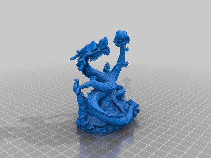 Dragon By Artec Printable By LukeChilson Thingiverse