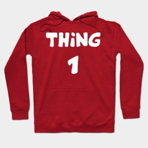 Thing 1 and Thing 2 Hoodies