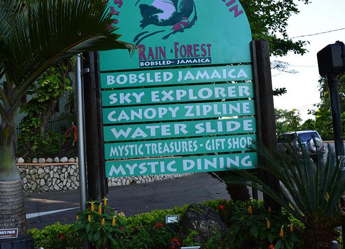 chair with canopy ergonomic kneeling posture mystic mountain rainforest in ocho rios jamaica