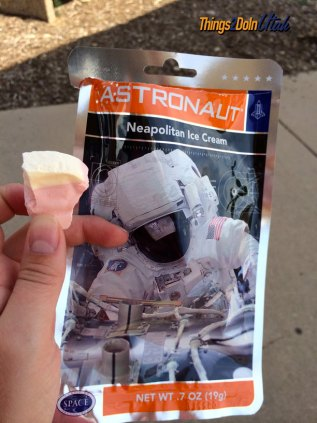 astronaut food at Hill Aerospace Museum