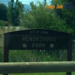 Rendezvous Park and walking trail logan utah