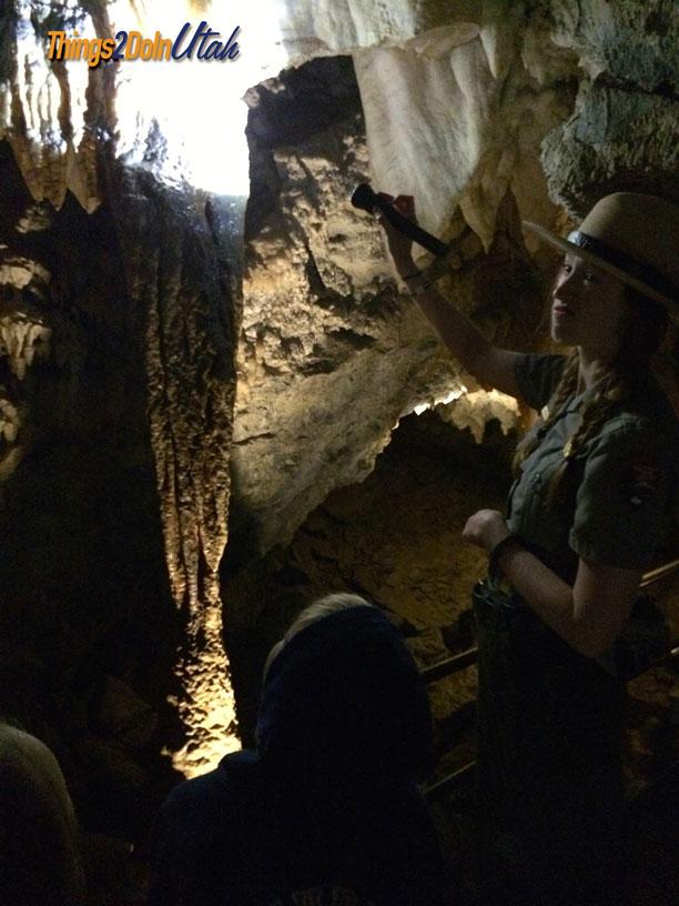 timpanogos-cave-ranger