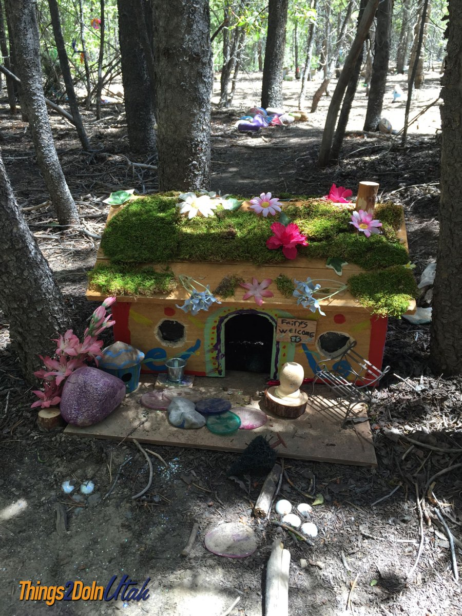 utah fairy forest