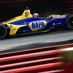 Alexander Rossi's #27 NAPA Auto Parts Honda