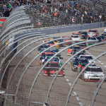 NASCAR restart at Texas Motor Speedway