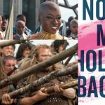 Scenes from Black Panther and Braveheart juxtaposed next to book cover of No More Holding Back