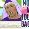 illustration of Lydia, BDAG lexicon entry, No More Holding Back book jacket