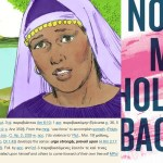 illustration of Lydia, BDAG lexicon entry, No More Holding Back book jacket
