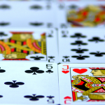 a grid of poker cards