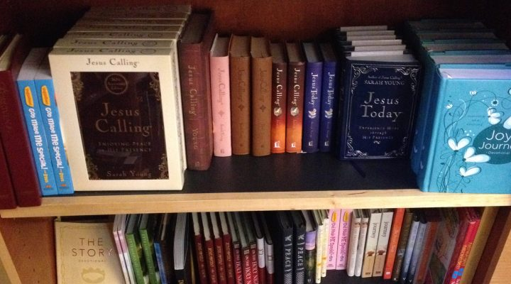 Jesus Calling at the Dallas Theological Seminary Book Center
