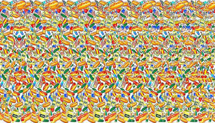 fast food magic eye