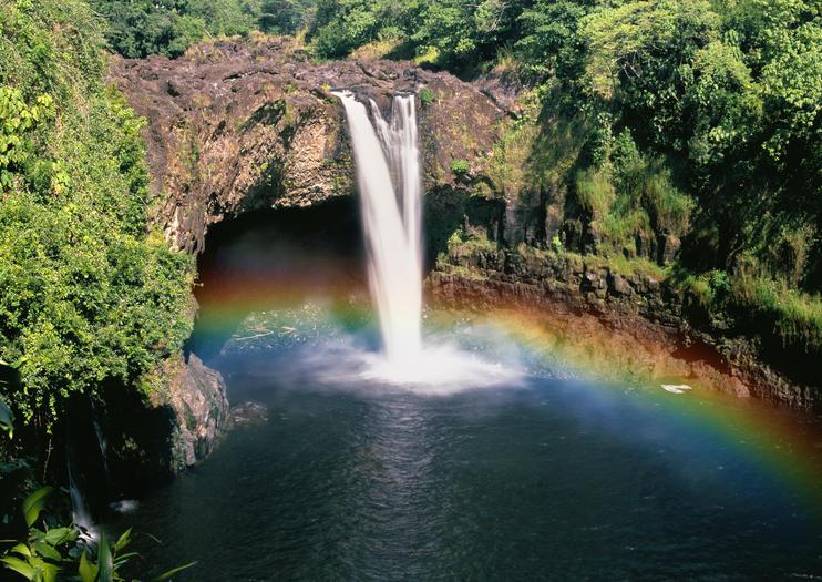Rainbow Falls Big Island Hawaii