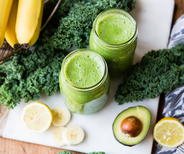 Kale & Avocado Smoothie