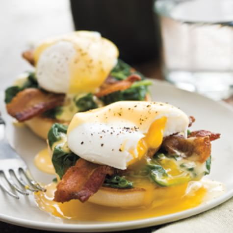 Kale Eggs Benedict
