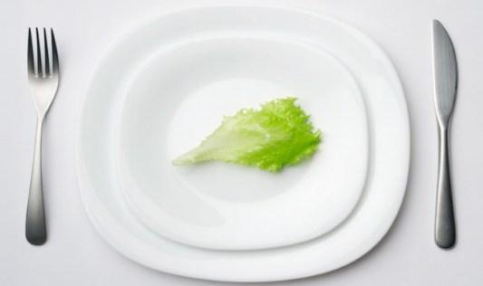 Small Balanced Food Portions