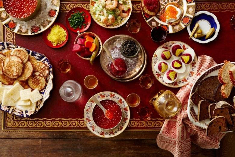 Russian Dinner Olivier Salad