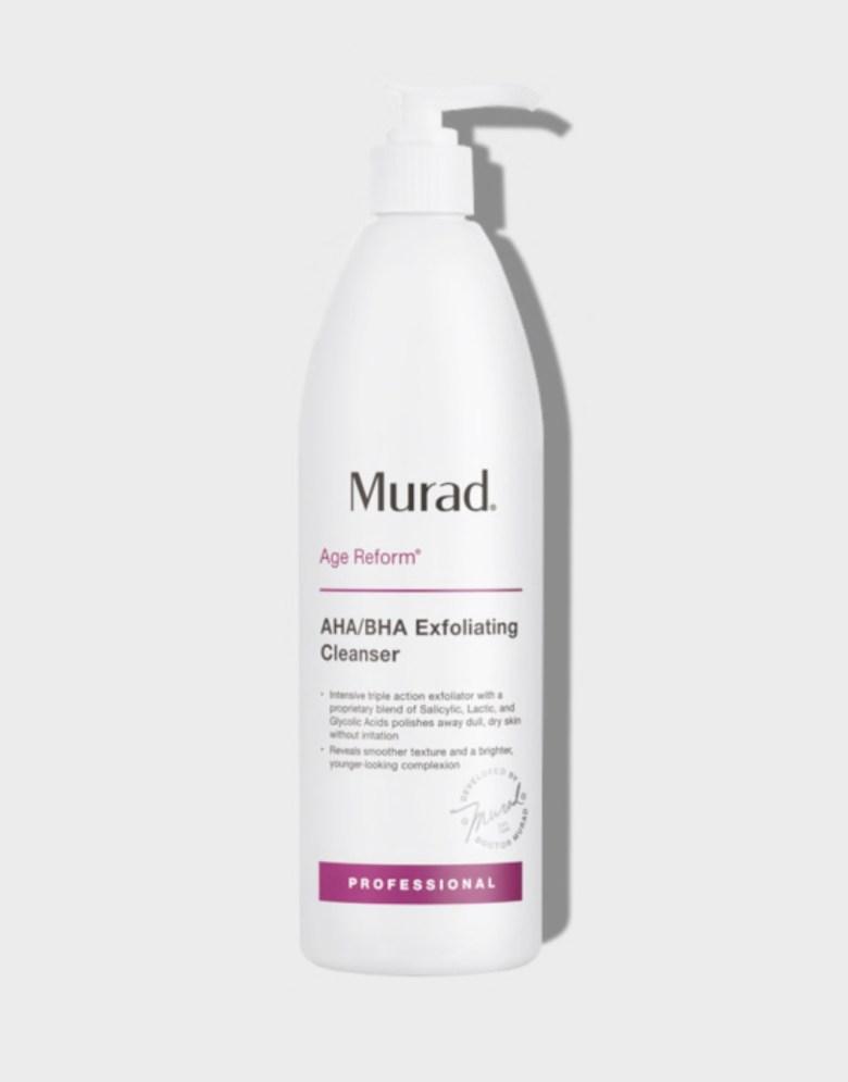 Murad exfoliating cleanser