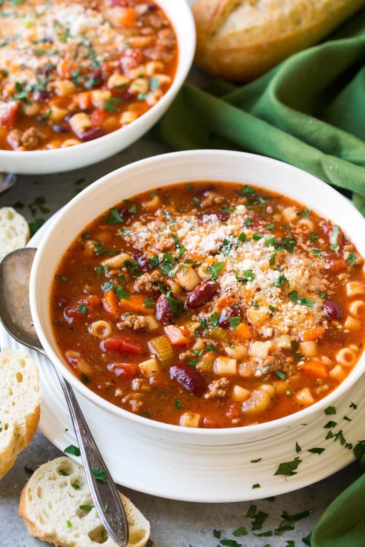 Pasta e fagioli soup Olive Garden copy cat