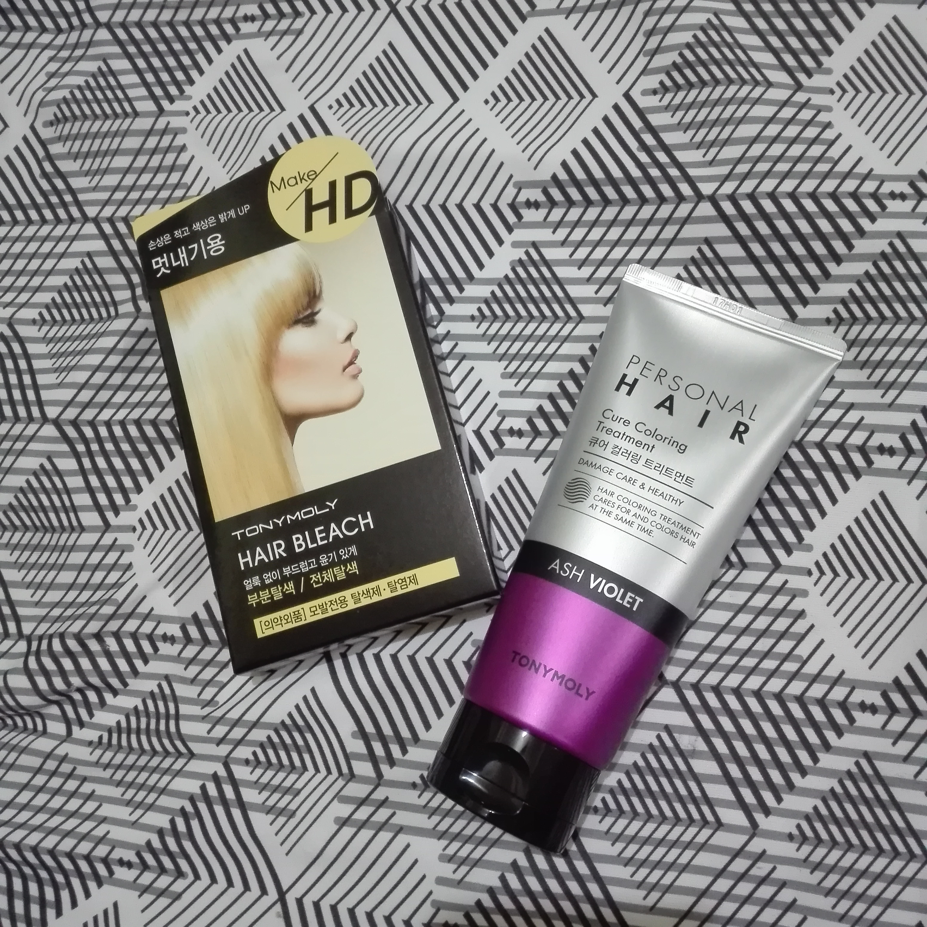 Hair Dye Review Tonymoly Personal Hair Color Treatment Thingsaxia
