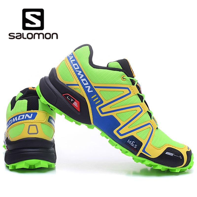 bas prix bce56 cb5c0 2019 Salomon Speed Cross 3 CS Speedcross anti-slip running Sneakers men  Outdoor cool light Shoes green Run breathable Eur 40-46 » Things Expressed