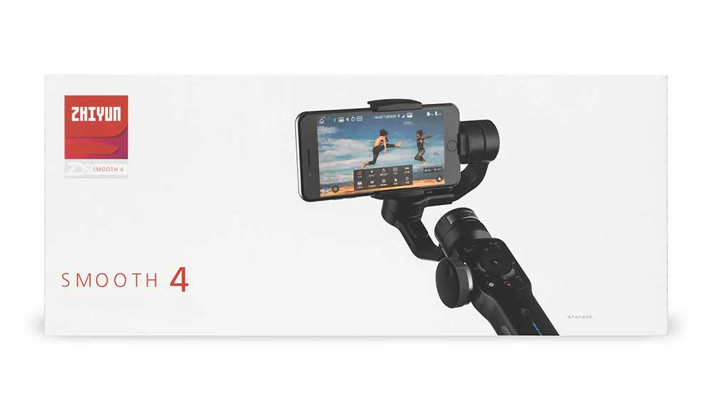 Zhiyun Smooth 4 Smartphone Stabilizer 3-axis gimbal