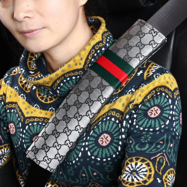 Universal 2pcs Gucci Inspired Seat Belt Cover