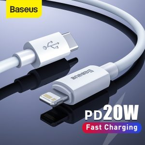USB C Cable for iPhone 12 11 20W PD Fast Charge