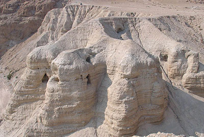 Qumran caves: Site of Dead Sea Scrolls